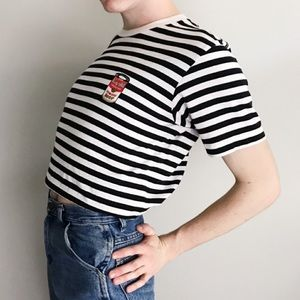 Uniqlo x Andy Warhol Stripe Campbell's Soup Tee